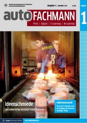autoFACHMANN 04/2014 Lehrjahr 1