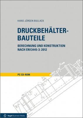 """Die CD-ROM """"Druckbehälter-Bauteile"""" von Hans-Jürgen Bullack"""