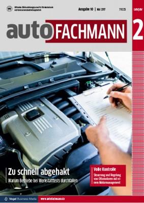 autoFACHMANN 10/2017 Lehrjahr 2