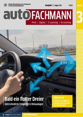autoFACHMANN 01/2015 Lehrjahr 3