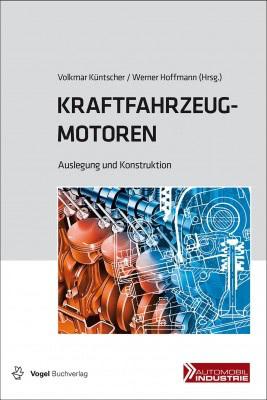 """Das Fachbuch """"Kraftfahrzeugmotoren"""" von Küntscher / Hoffmann"""