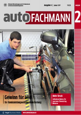 autoFACHMANN 6/2017 Lehrjahr 2