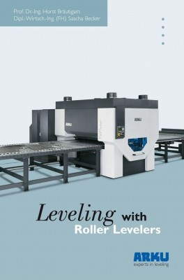 "The Specialised Book ""Leveling with Roller Levelers"" by Horst Bräutigam und Sascha Becker"