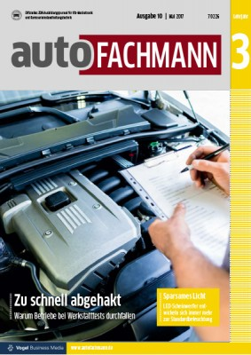 autoFACHMANN 10/2017 Lehrjahr 3