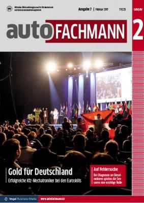autoFACHMANN 7/2017 Lehrjahr 2